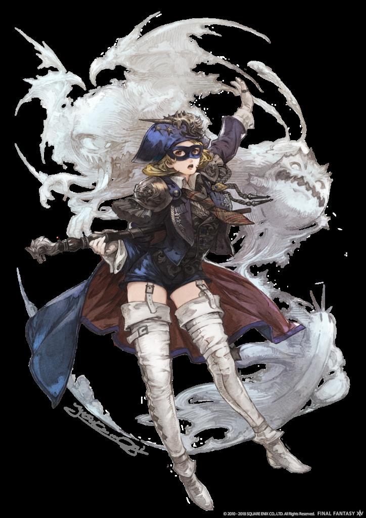 Shadowbringers Mage Bleu