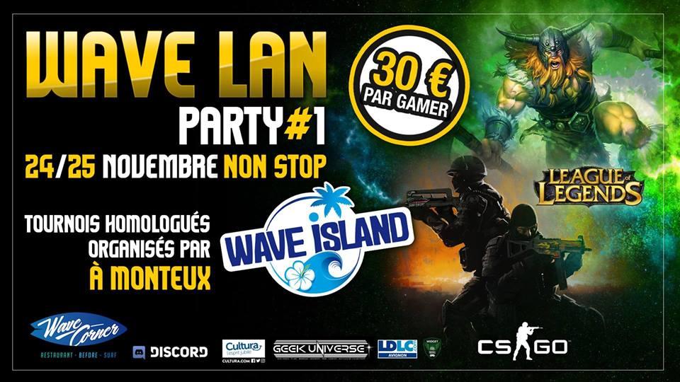 Wave LAN Monteux