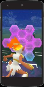 Pokémon GO combat
