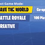 Fortnite Creative select