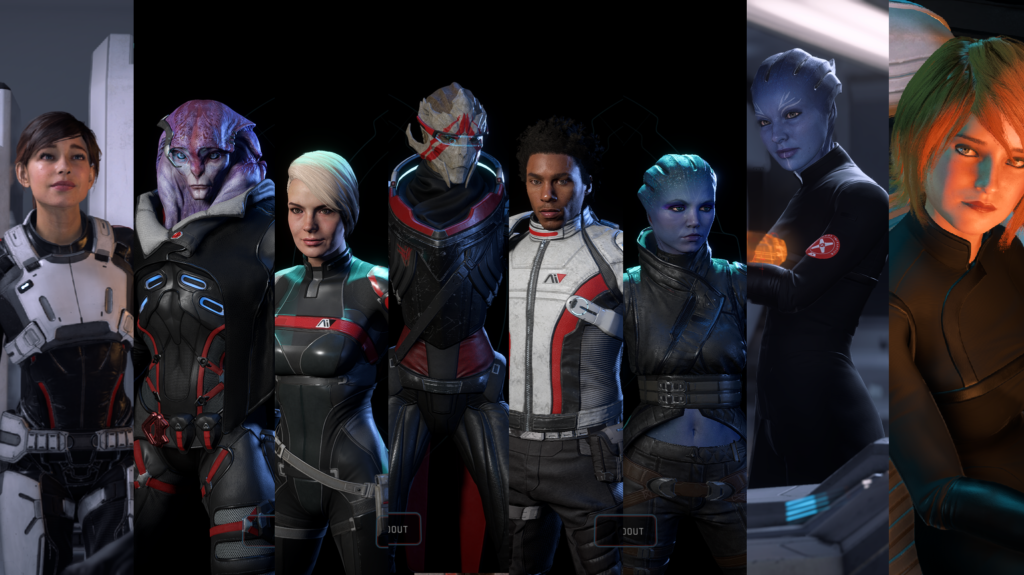 Mass Effect personnages