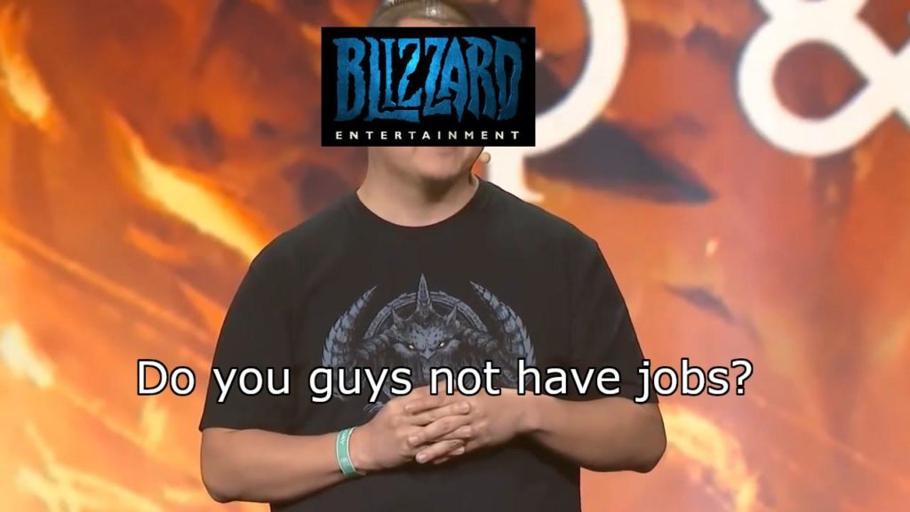 Blizzard jobs