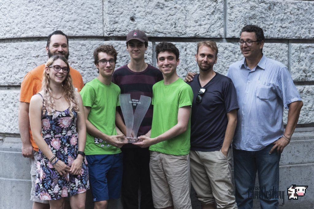 Les gagnants des Junior Swiss Game Award