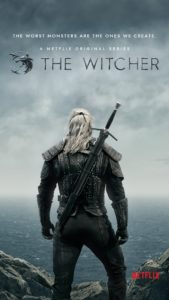 The Witcher - Affiche Netflix