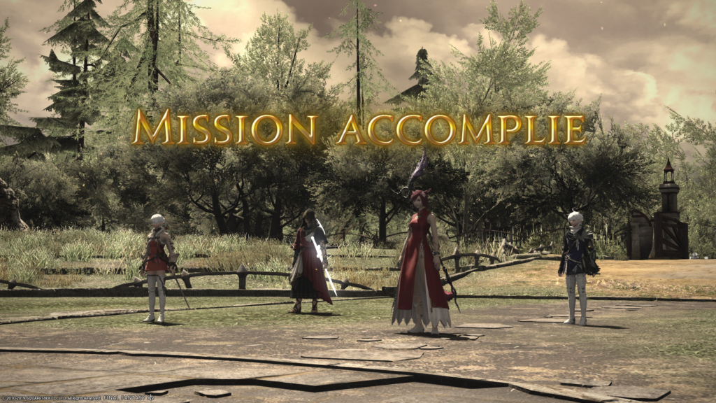 Shadowbringers - Mission Accomplie