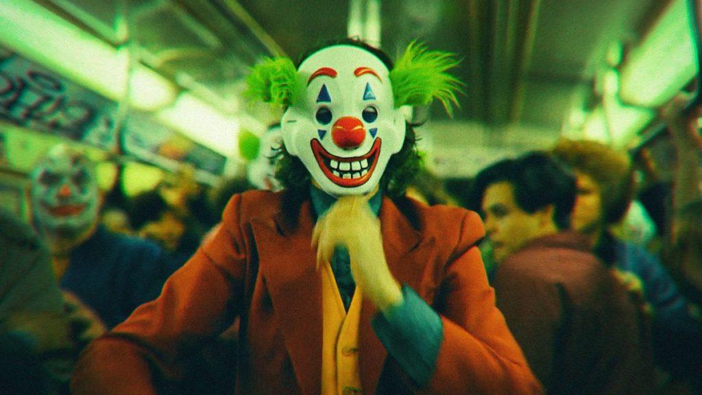 Joker masque métro