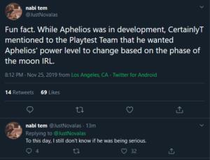 Aphelios joke