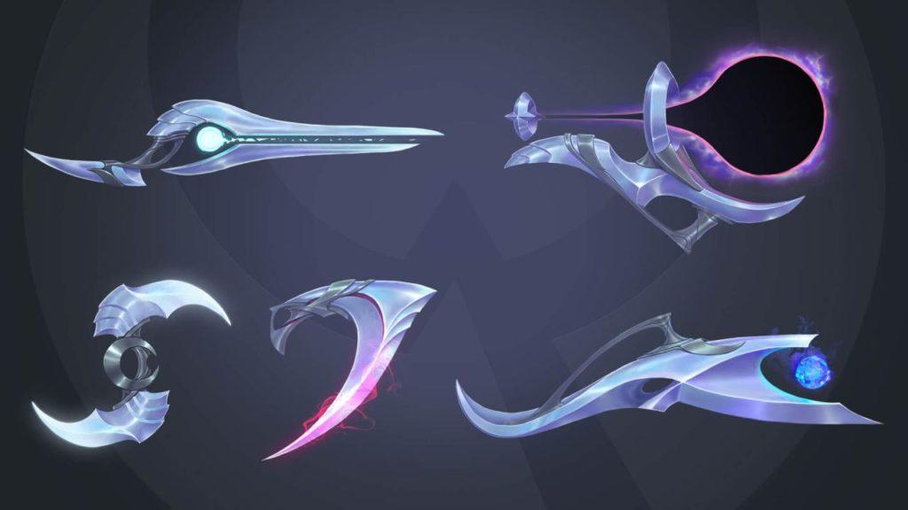 Aphelios armes