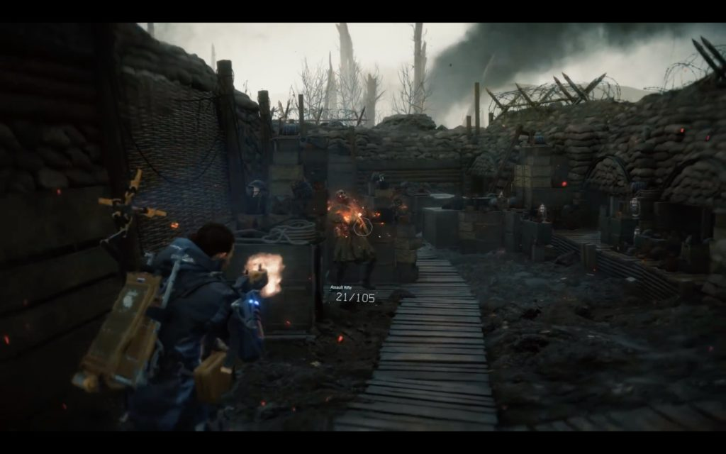 Death Stranding gameplay combat